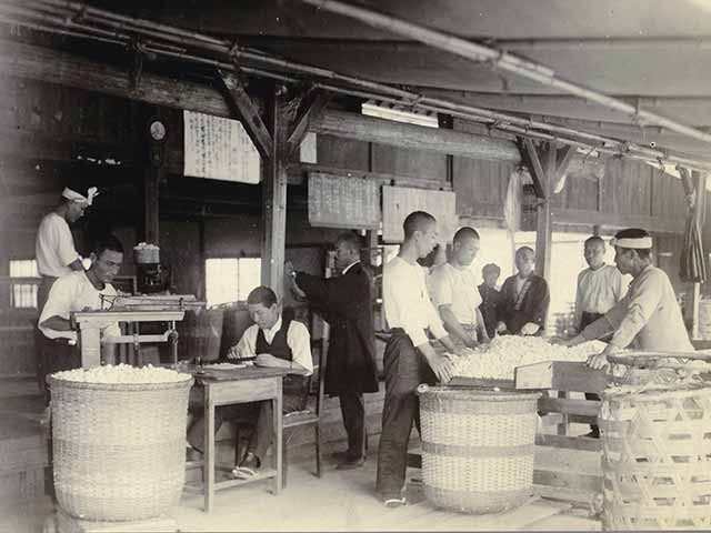 History of sericulture in Komagane